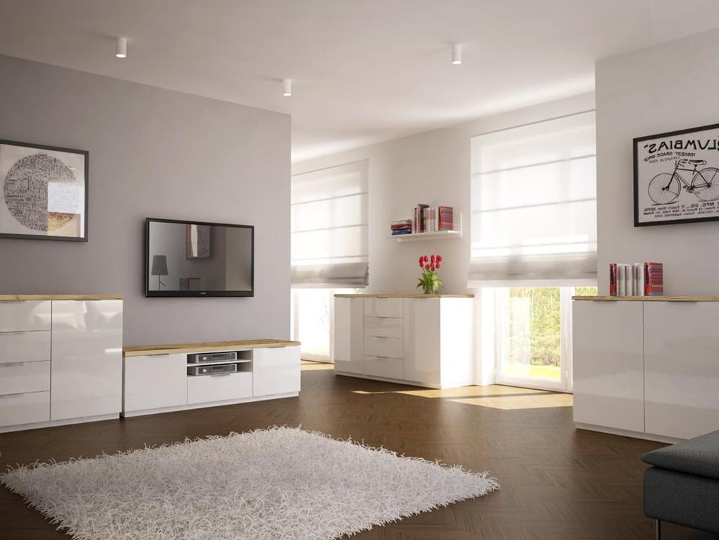 nowoczesne meble systemowe do salonu pokoju dziennego