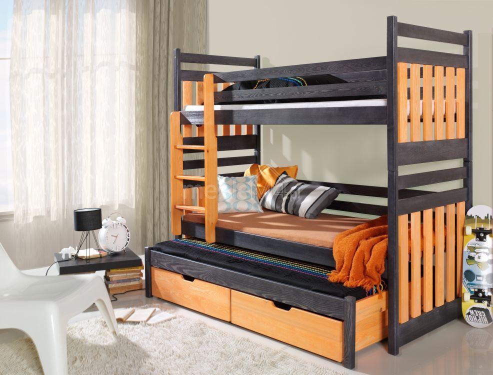 łóżko Piętrowe Sambor 3 Osobowe Sklep Internetowy Meblem4