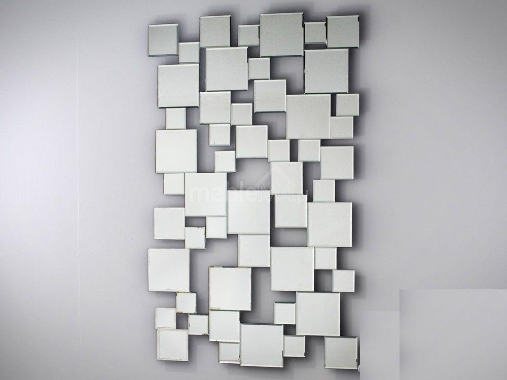 Lustro Ozdobne Z Małych Lusterek Atm024 73x120cm