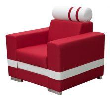 Fotel R1 z regulowanym zagłówkiem
